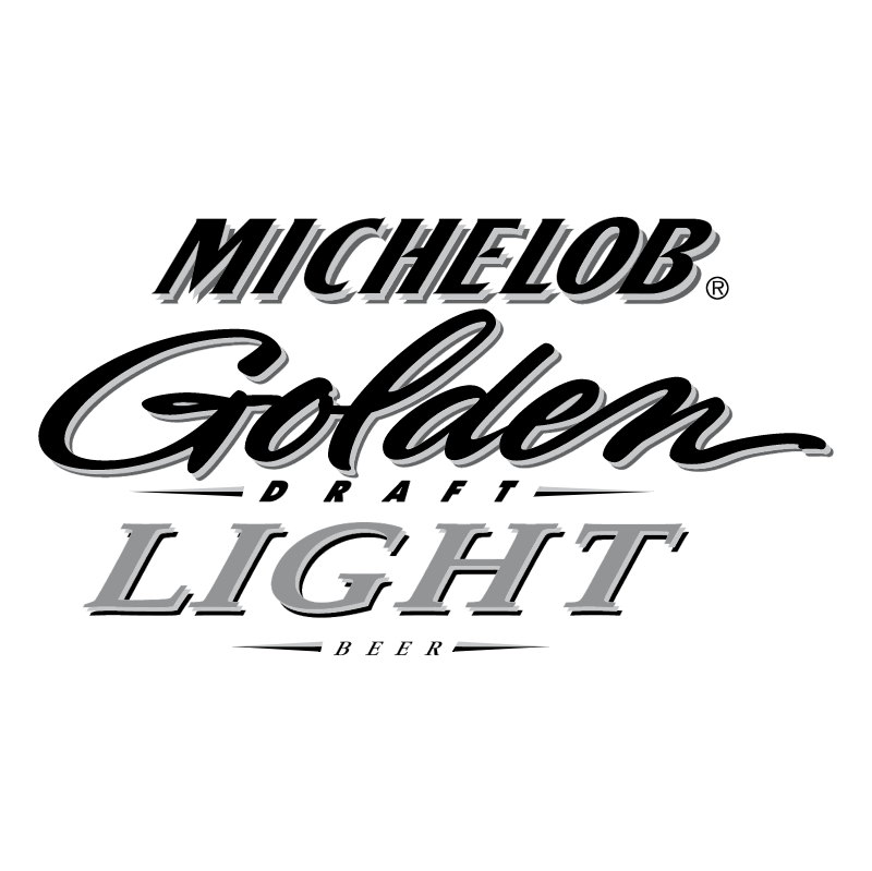 Michelob Golden Draft Light Beer vector