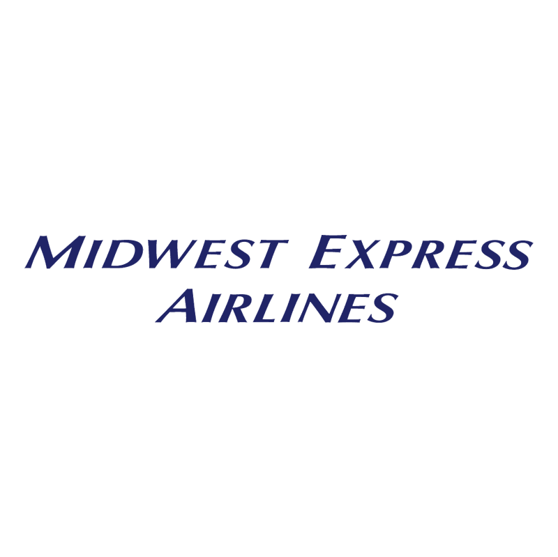 Midwest Express Airlines vector