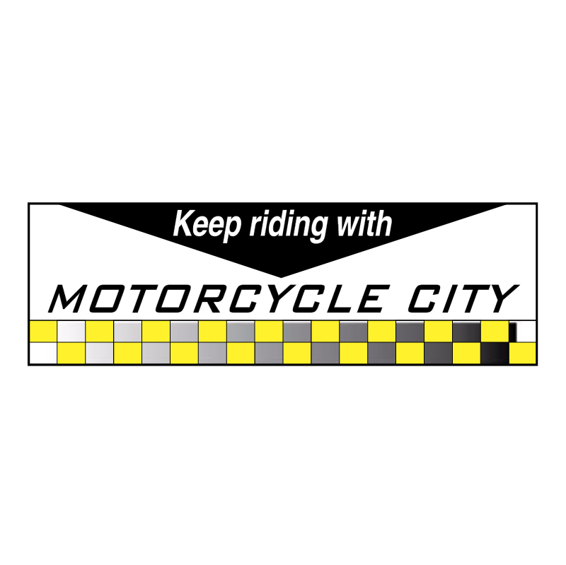 Motor Cycle City vector
