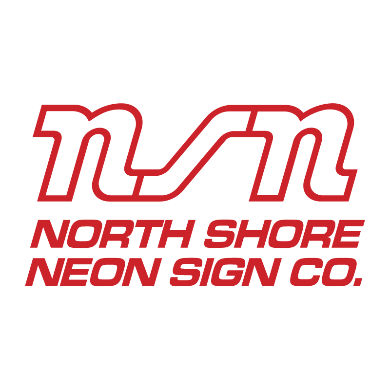 North Shore Neon Sign Co vector