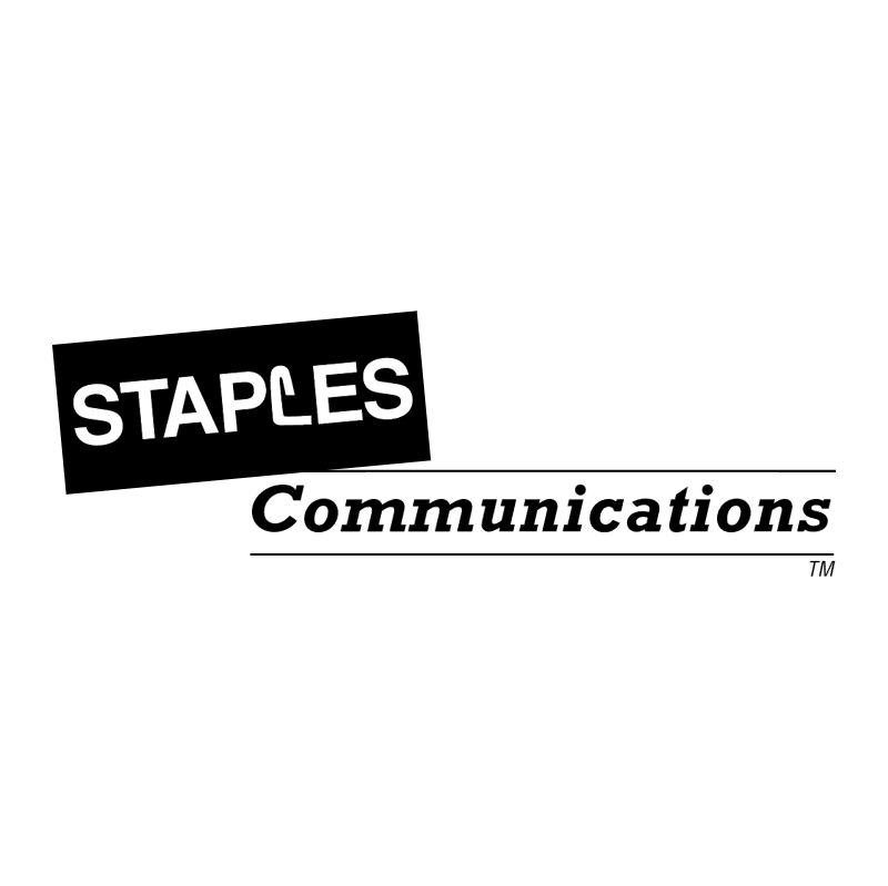 Staples Communications vector logo