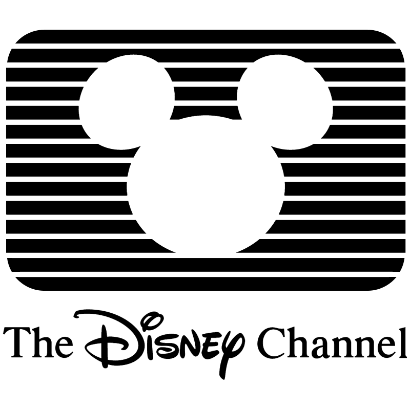 The Disney Channel vector