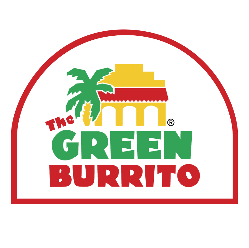 The Green Burrito vector
