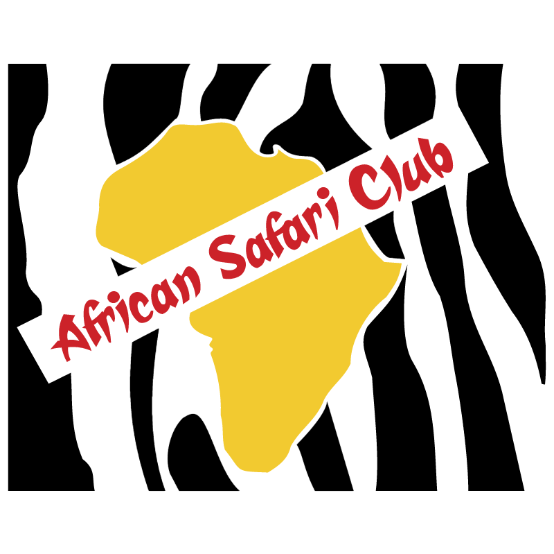 African Safari Club vector
