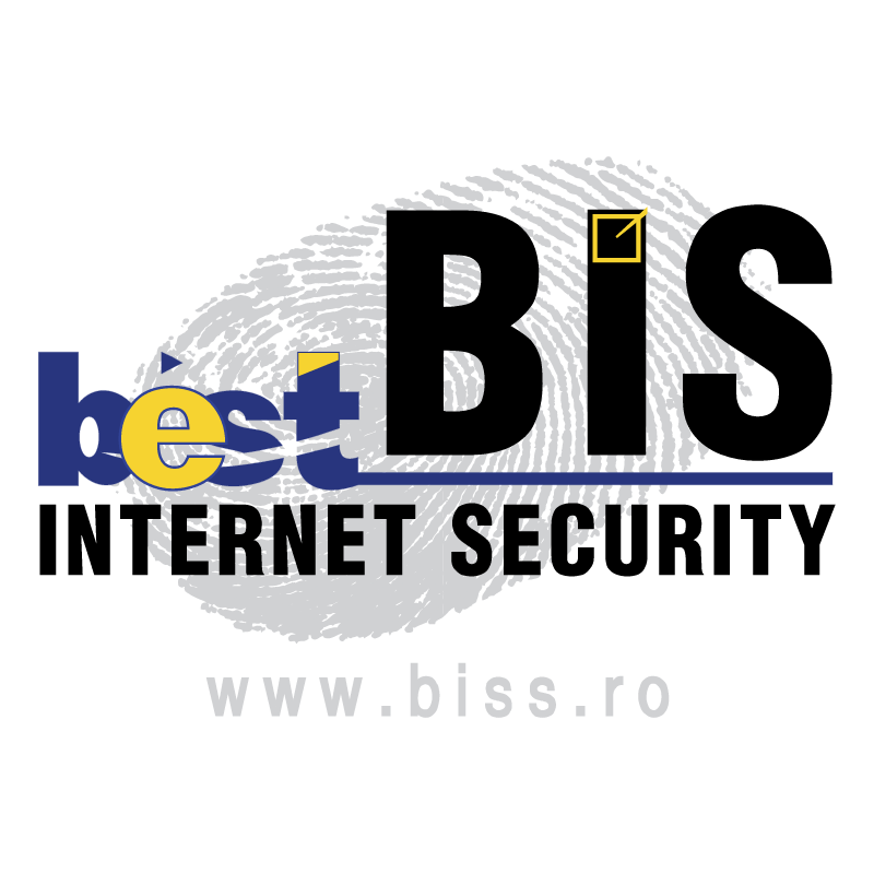 Best Internet Security vector logo