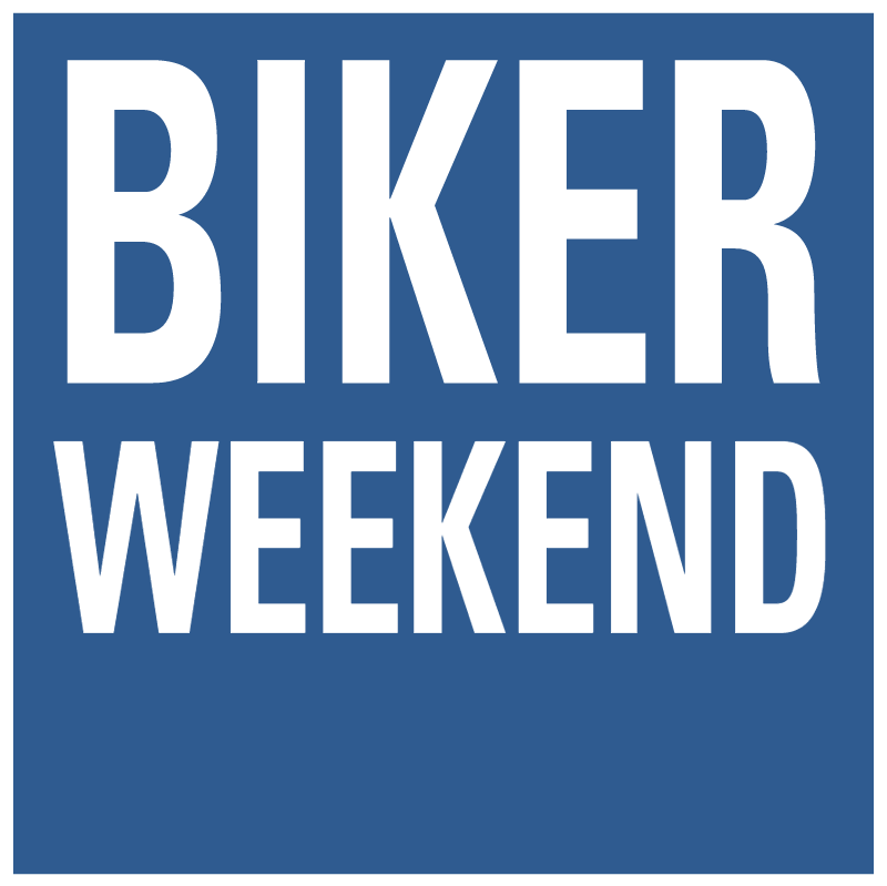 Biker Weekend vector
