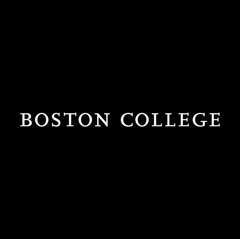 Boston College vector