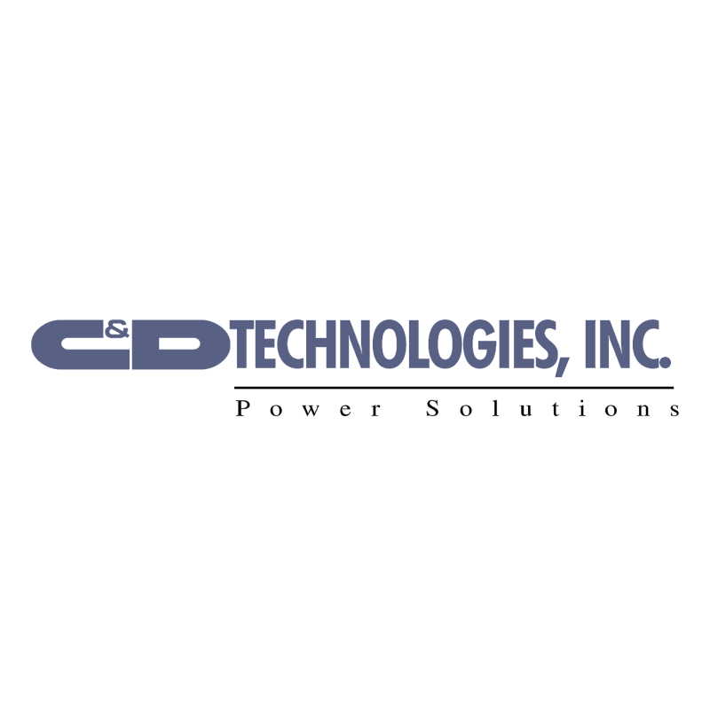 C&D Technologies vector