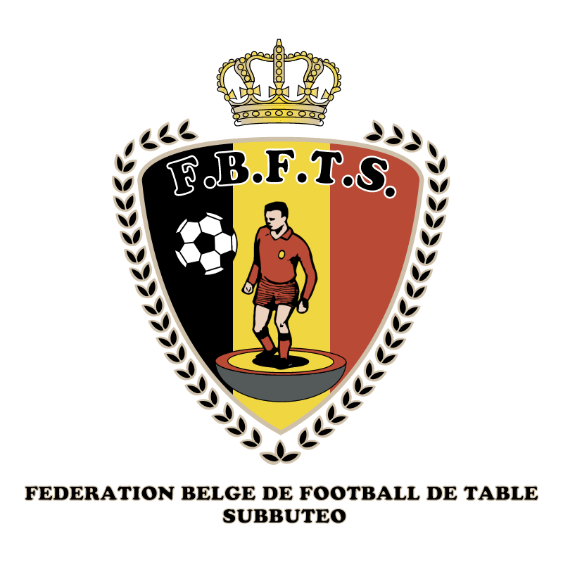 Federation Belge de Football de Table Subbuteo vector