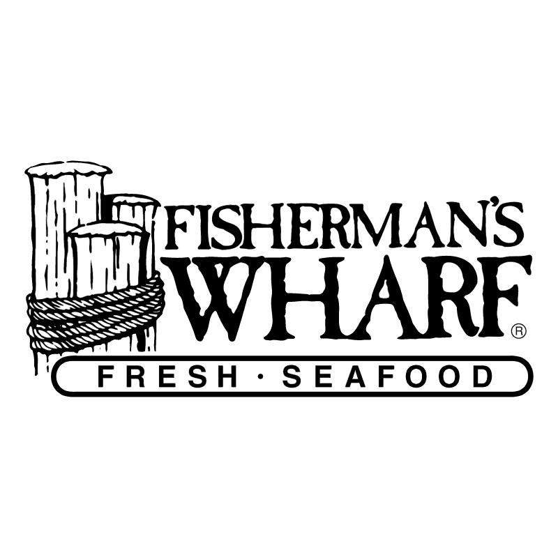 Fisherman's Wharf vector logo
