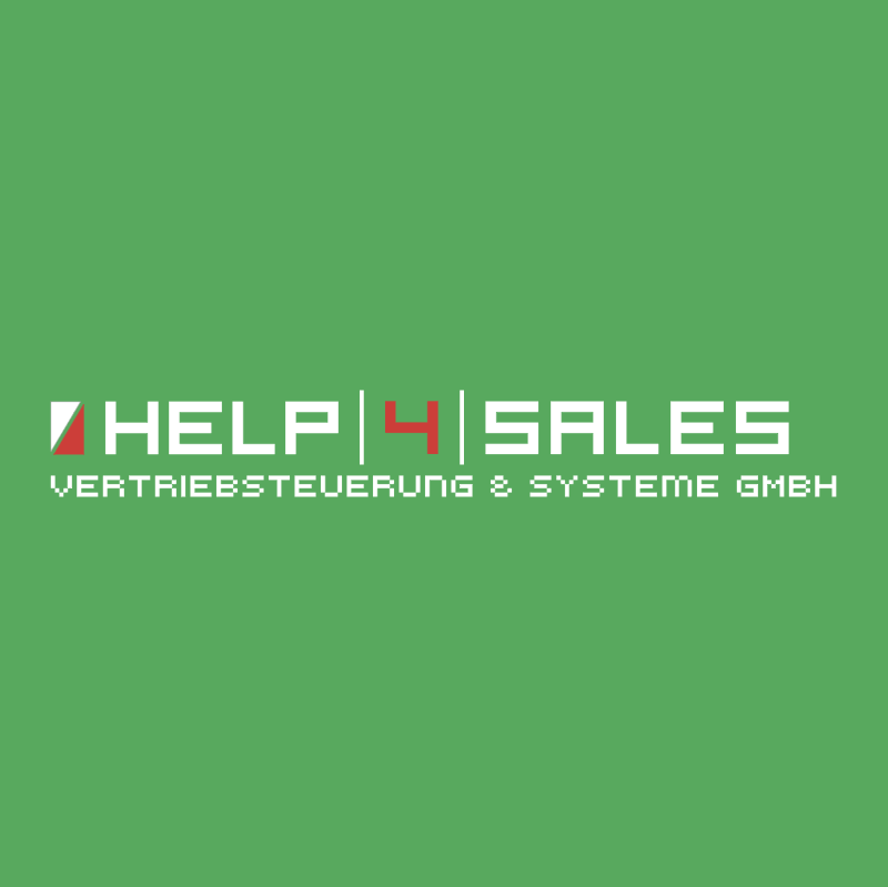 Help 4 Sales vector logo