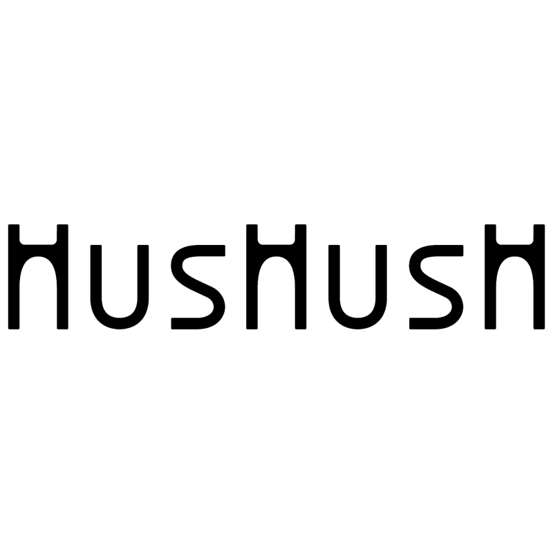 Hushush vector logo