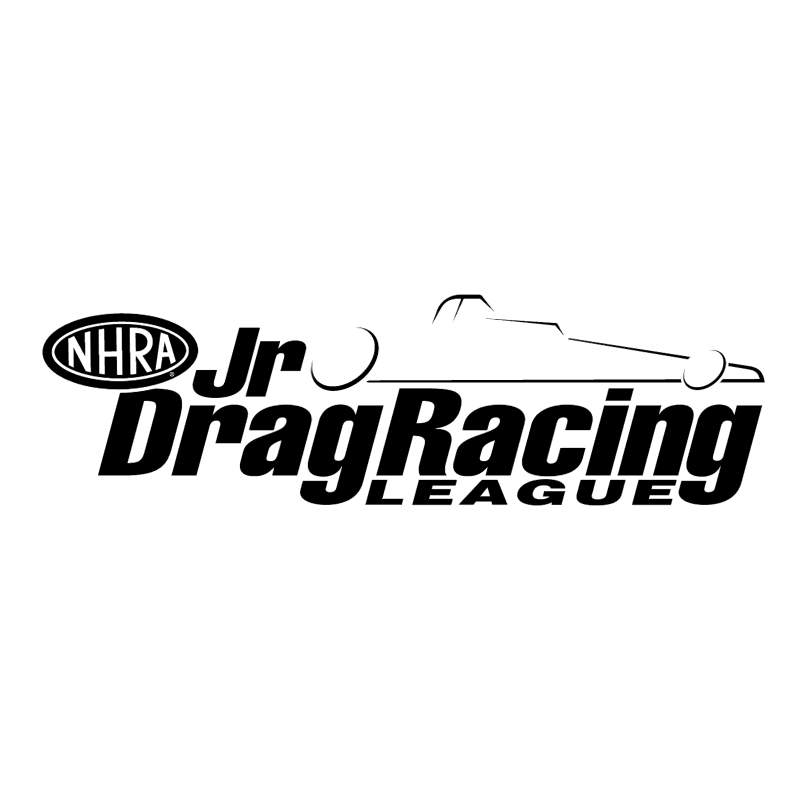 Jr Drag Racing League vector