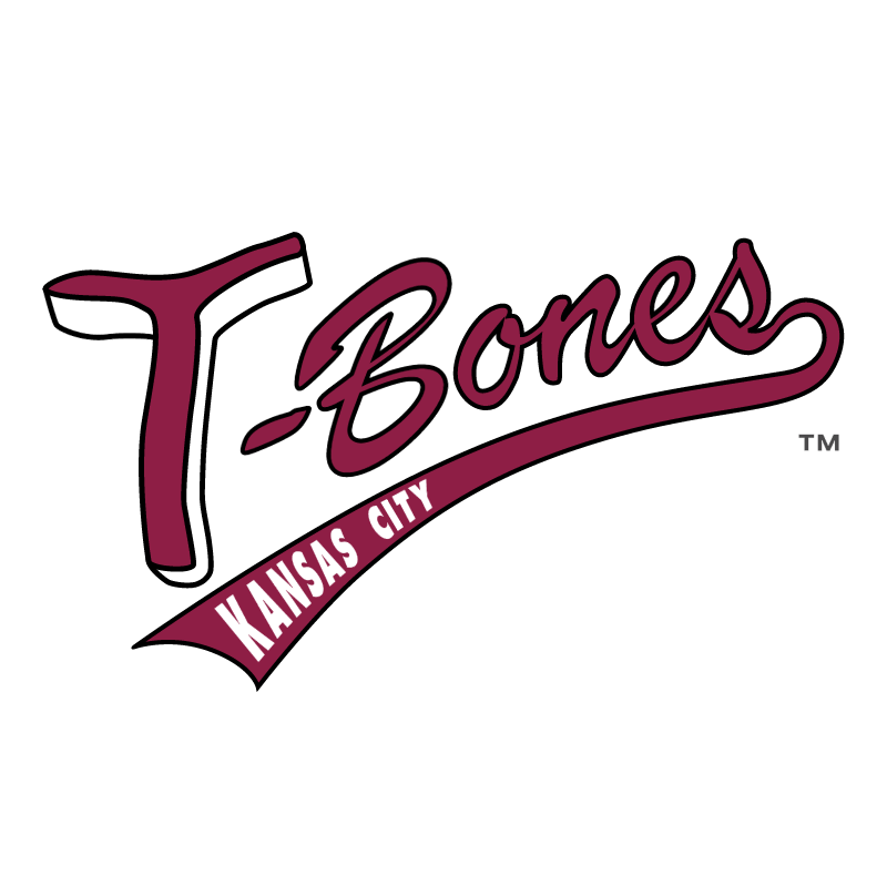 Kansas City T Bones vector