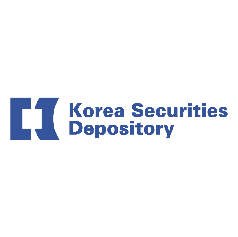 Korea Securities Depository vector
