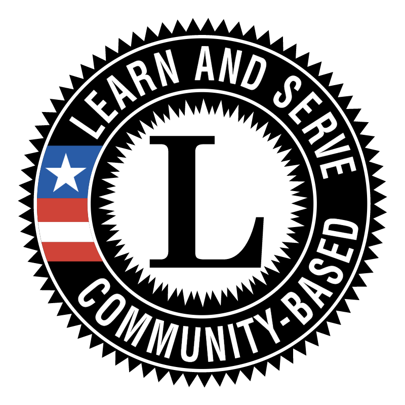 Learn and Serve America Community Based vector logo