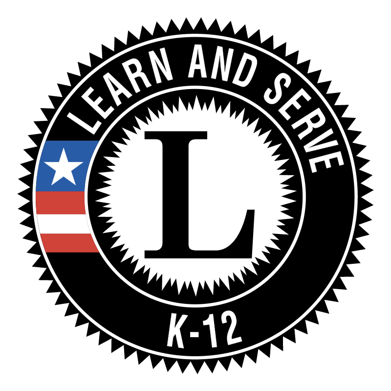 Learn and Serve America K 12 vector