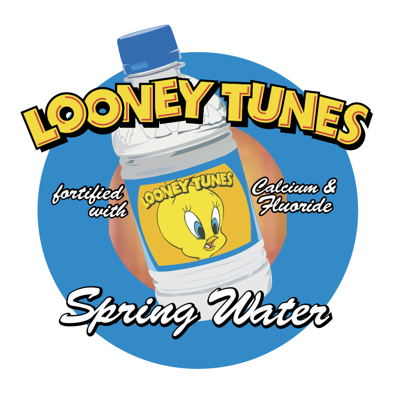 Looney Tunes Spring Water vector