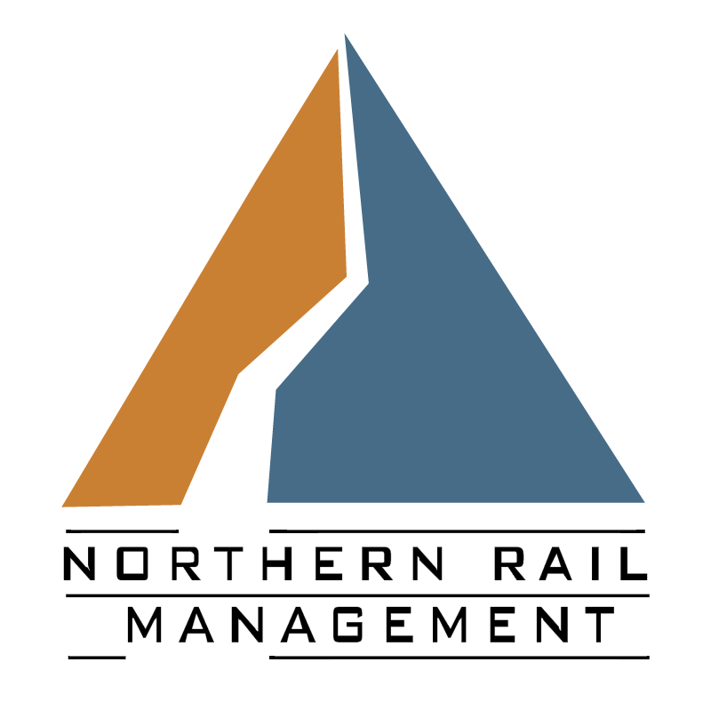 Northern Rail Management vector