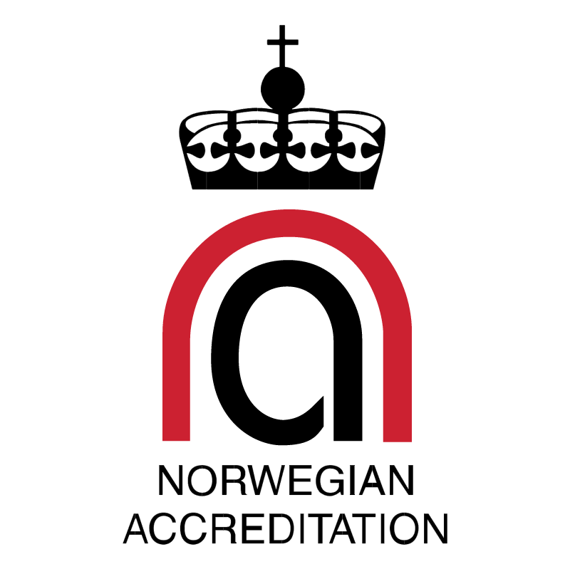 Norwegian Accreditation vector