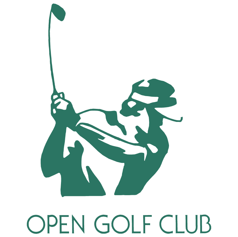 Open Golf Club vector