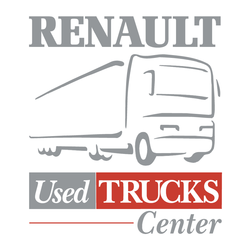 Renault Used Trucks Center vector