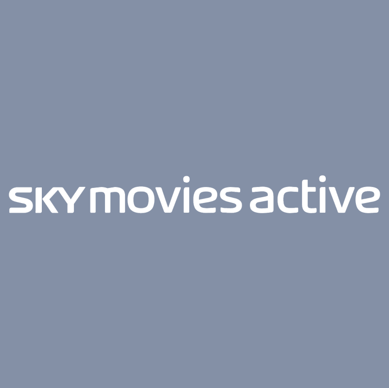 SKY movies active vector logo