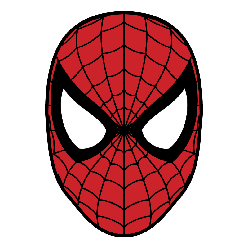 Spider man vector logo