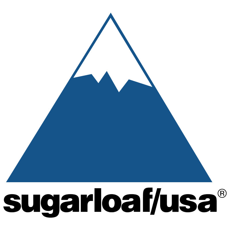 Sugarloaf USA vector logo