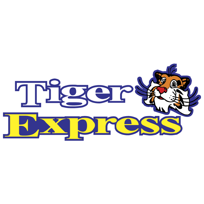 Tiger Express vector logo