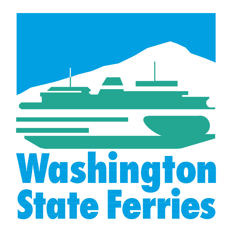 Washington State Ferries vector