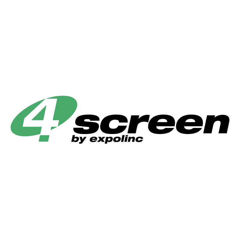 4 screen vector logo