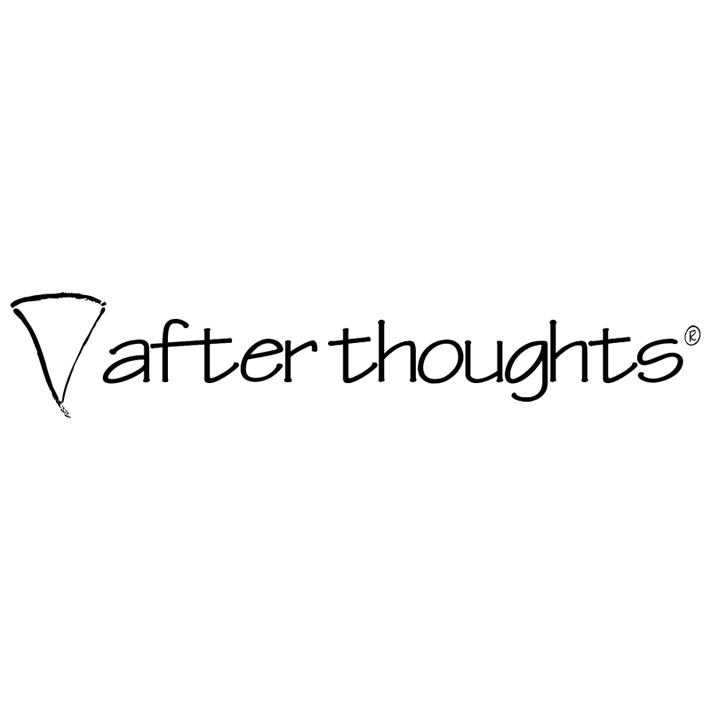 Afterthoughts vector logo