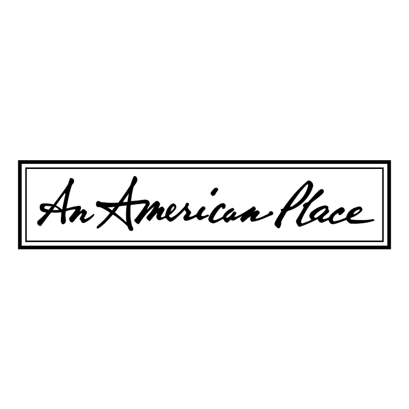 An American Place 55562 vector