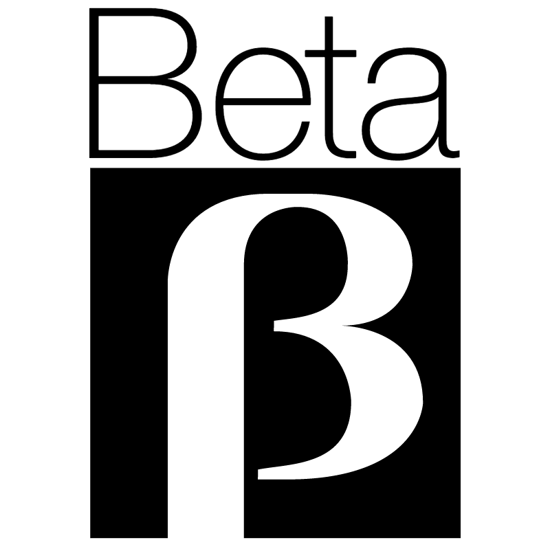 Beta 11709 vector logo