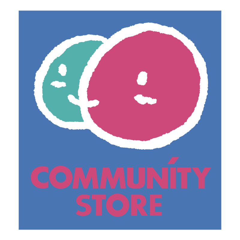Community Store vector logo
