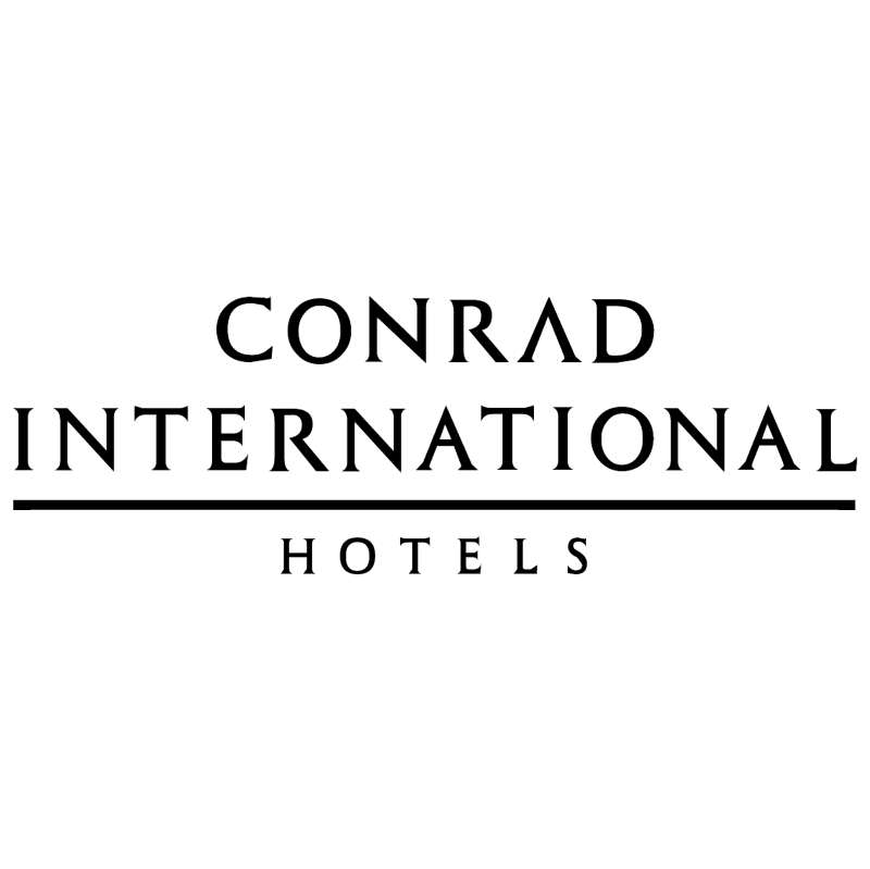 Conrad International vector