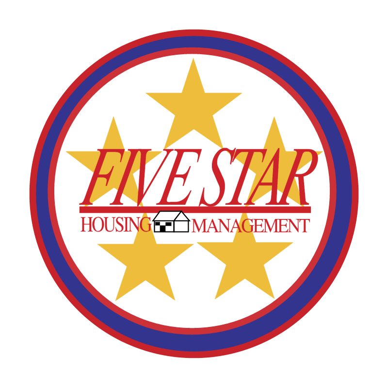Five Star Housing vector logo