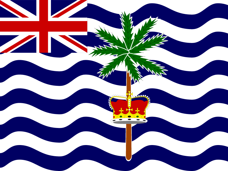 Flag of British Indian Ocean Territory vector