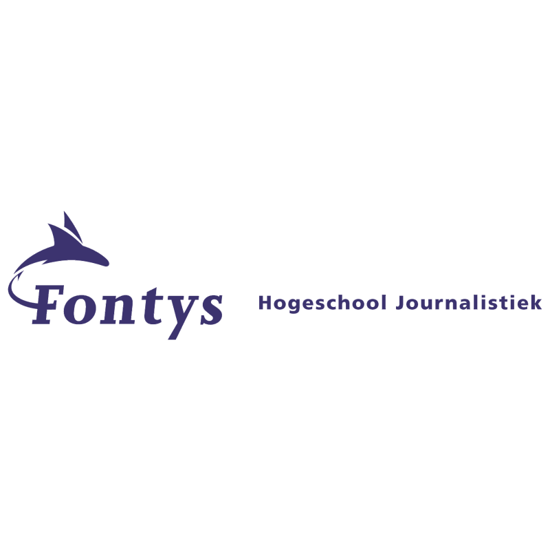 Fontys Hogeschool Journalistiek vector