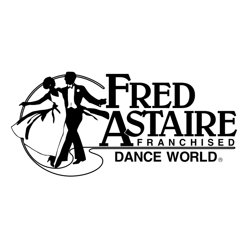 Fred Astaire Franchised vector