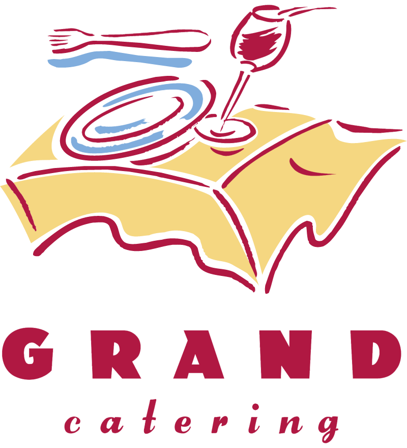 GRAND CATERING vector