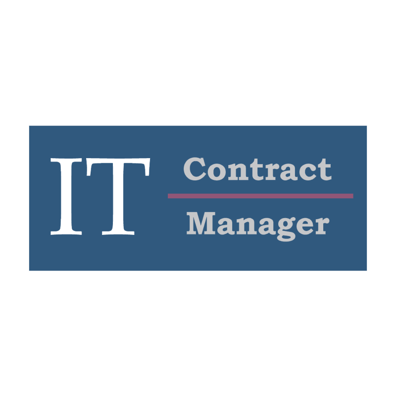 IT Contract Manager vector