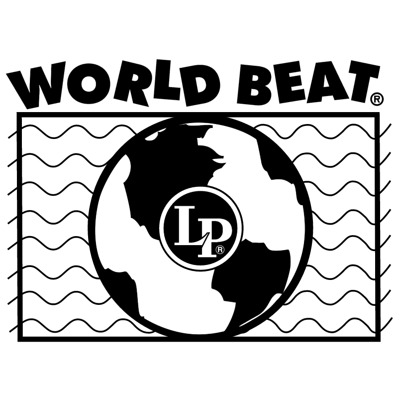 LP World Beat vector