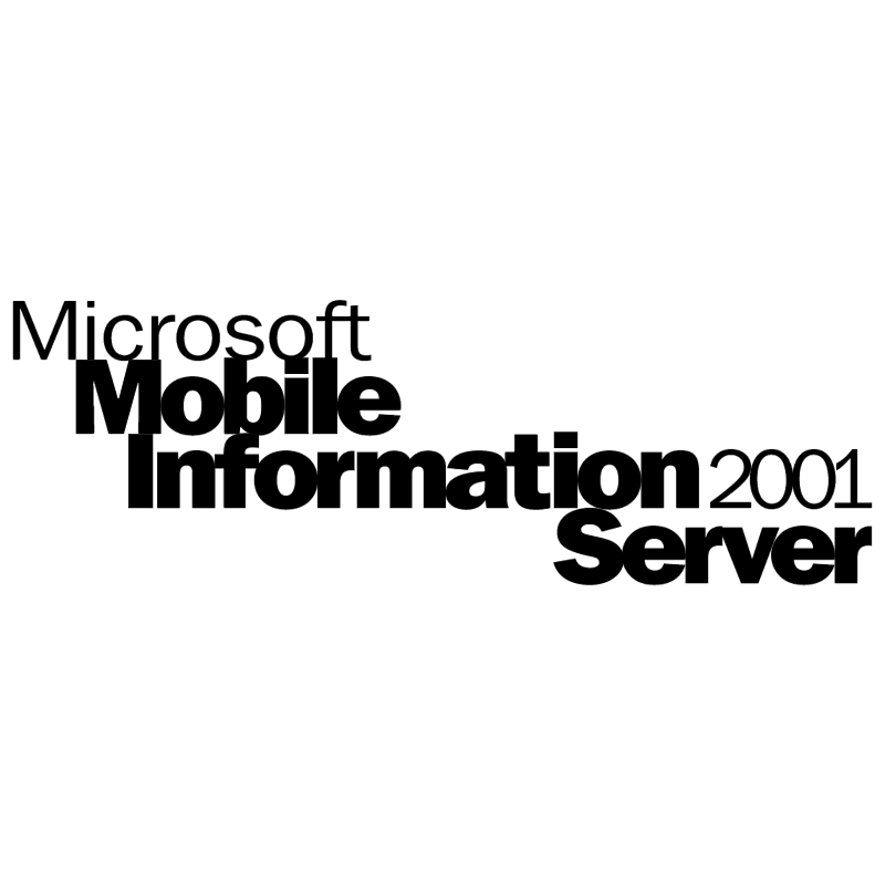 Microsoft Mobile Information Server 2001 vector