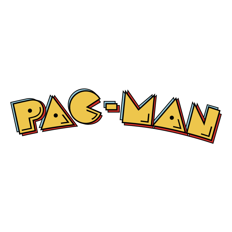 Pac Man vector logo