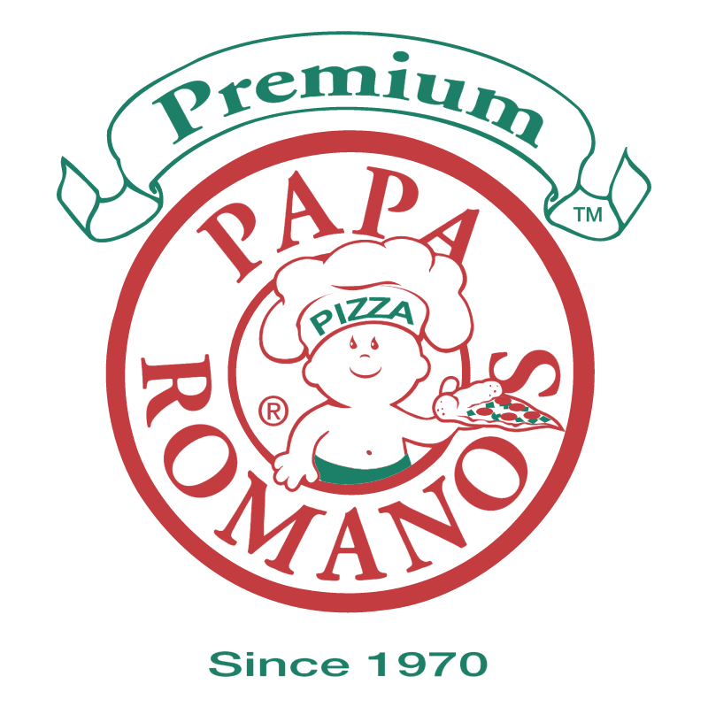 Papa Romano's Pizza vector