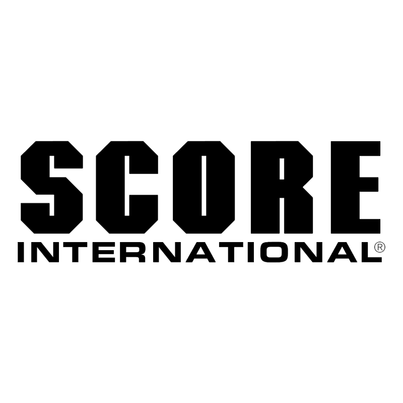 Score International vector logo