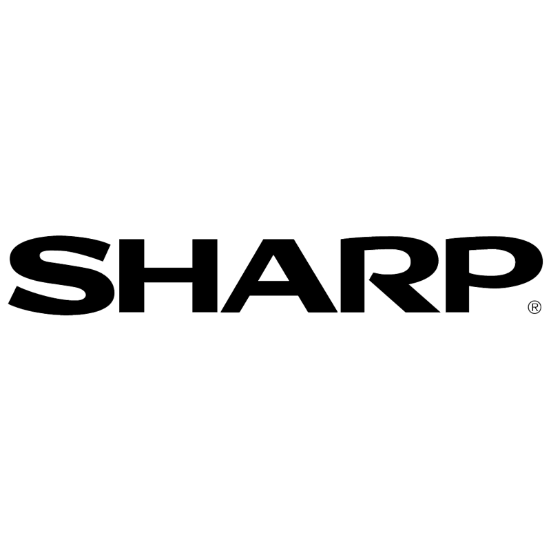 Sharp vector logo