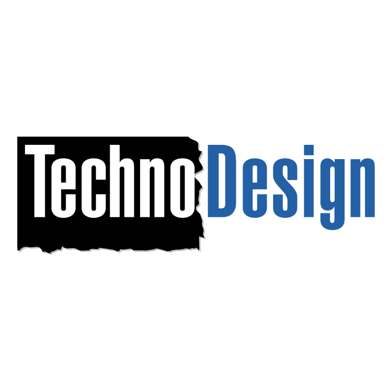 Techno Design vector logo